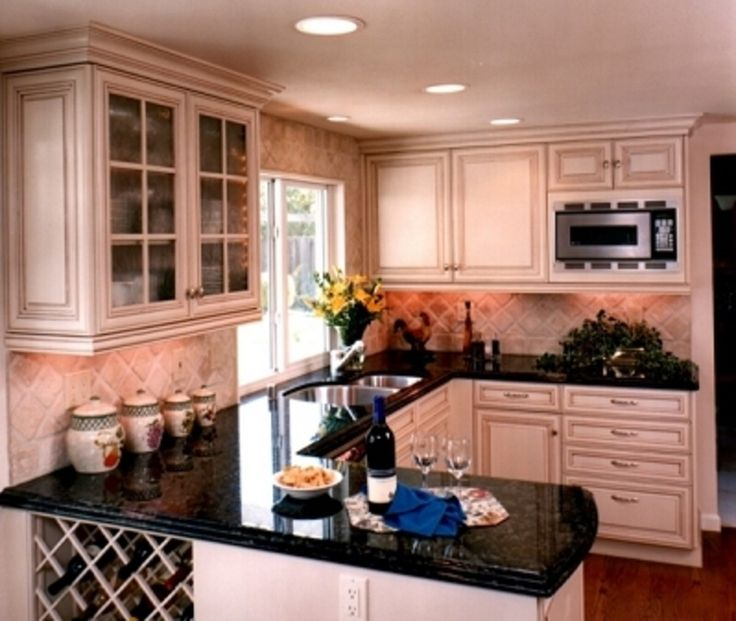 1000 ideas about small country kitchens on pinterest country kitchens river rock fireplaces - Country kitchen paint ideas ...