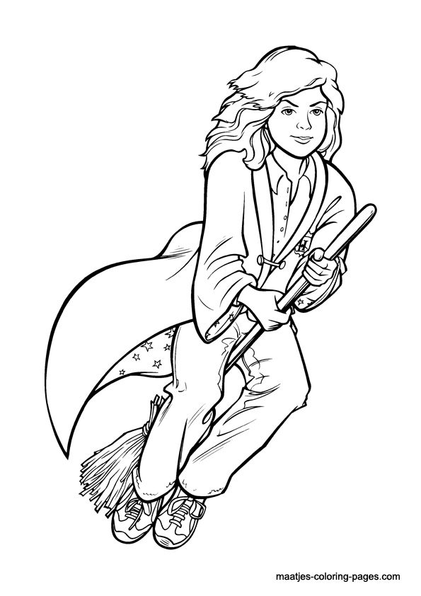 72 best Harry Potter ~ Coloring Pages images on Pinterest