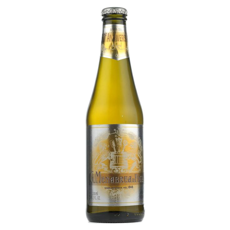 Beer1 50° Anniversario Lager, Menabrea, Italy.