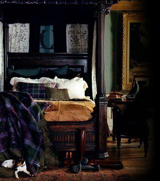 Eye For Design: Decorating Dark, Moody Bedrooms