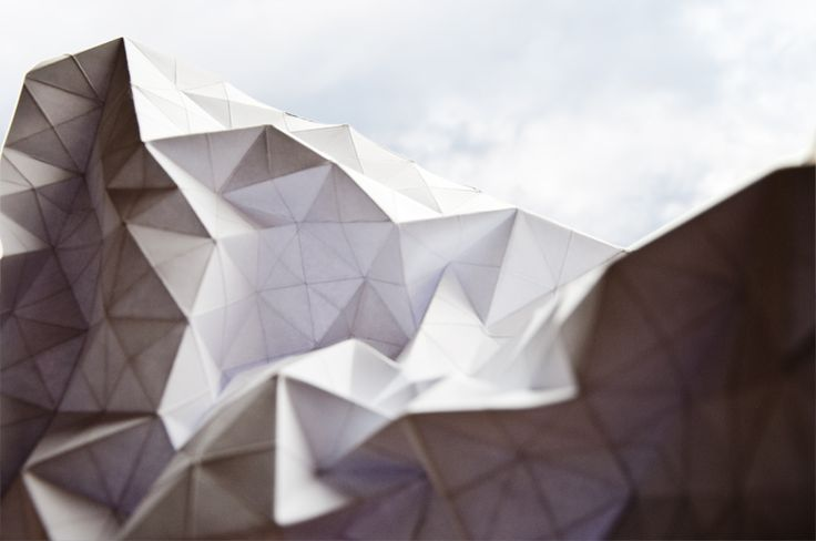 #Folding #Tessellation #Paper