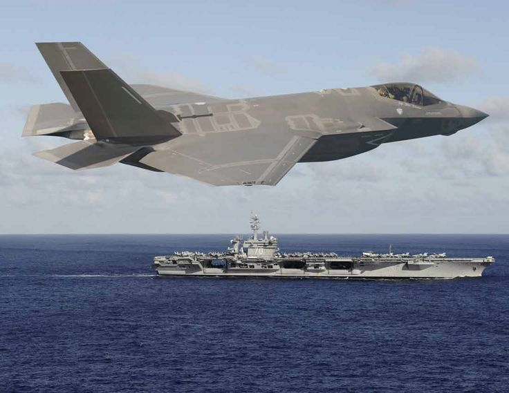 F-35C & USS Carl Vinson CVN-70, that's our boys and girls!!