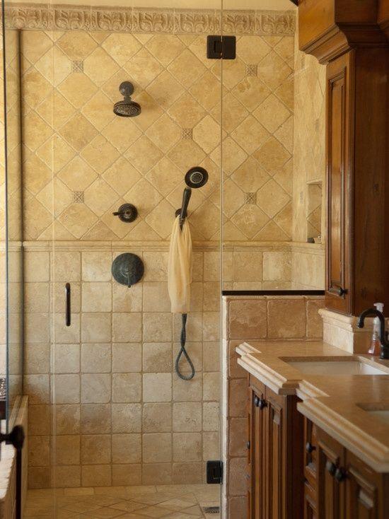 Mediterranean Bathroom Design | Home Design Ideas on mediterranean bathroom shower, french country bathroom shower, spanish style bathroom shower, shabby chic bathroom shower, craftsman bathroom shower, modern contemporary bathroom shower,