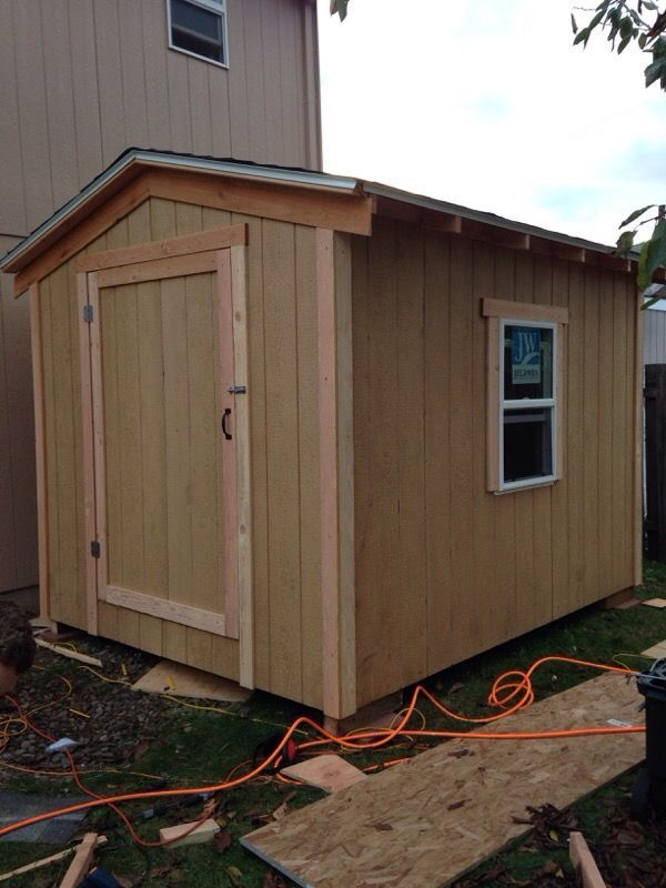 New (never used) - Hello I have a 8 x 10 shed for sale message for more info free delivery and set up