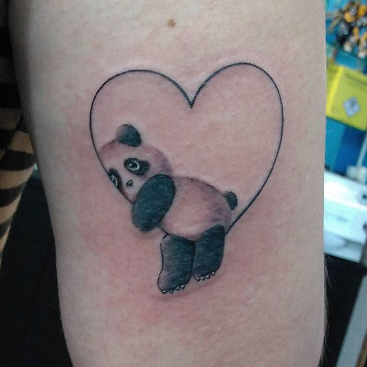 Panda Tattoo Designs 021