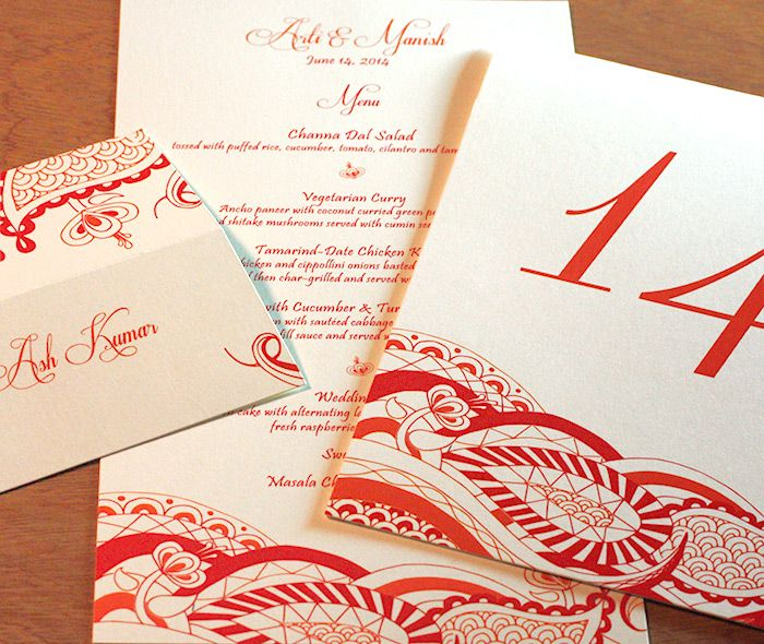 38 best invitation design arti images on pinterest indian anshi indian modern letterpress wedding invitation by invitations by ajalon stopboris Image collections