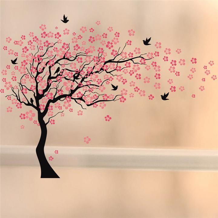 Cherry Blossom Wall Mural Cherry Blossom Tree Cherry Blossom Wall Art Tree Wall Painting Tree Wall Murals