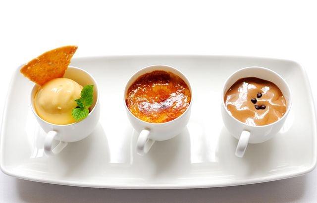 Tonka bean crème brûlée- Stephen Crane FROM Great British Chefs