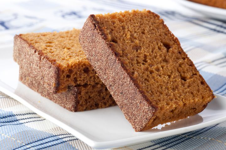 Fit Gingerbread Pound Cake