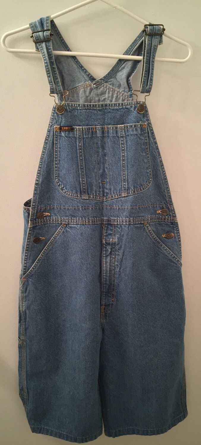 A personal favorite from my Etsy shop https://www.etsy.com/listing/266209027/vintage-lee-jean-bib-overalls-shorts