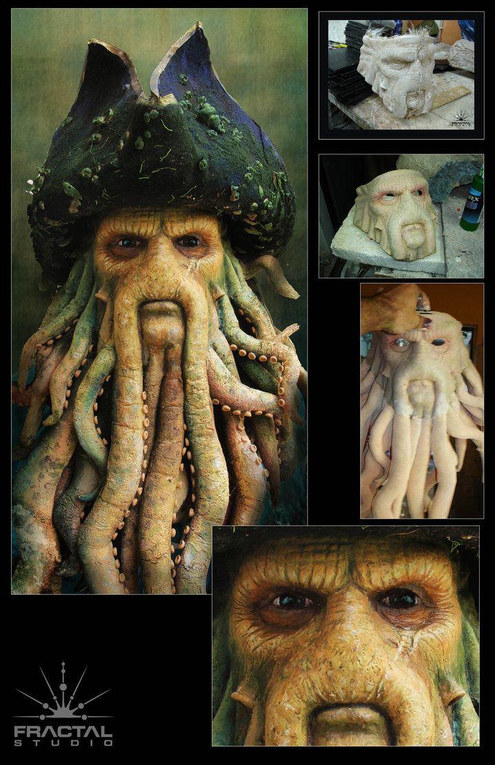 Davy Jones mask!