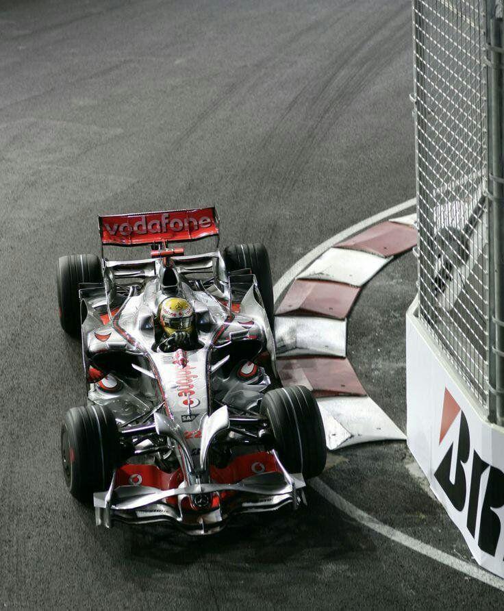 Lewis Hamilton, McLaren-Mercedes, 2008 Singapore Grand Prix. #F1