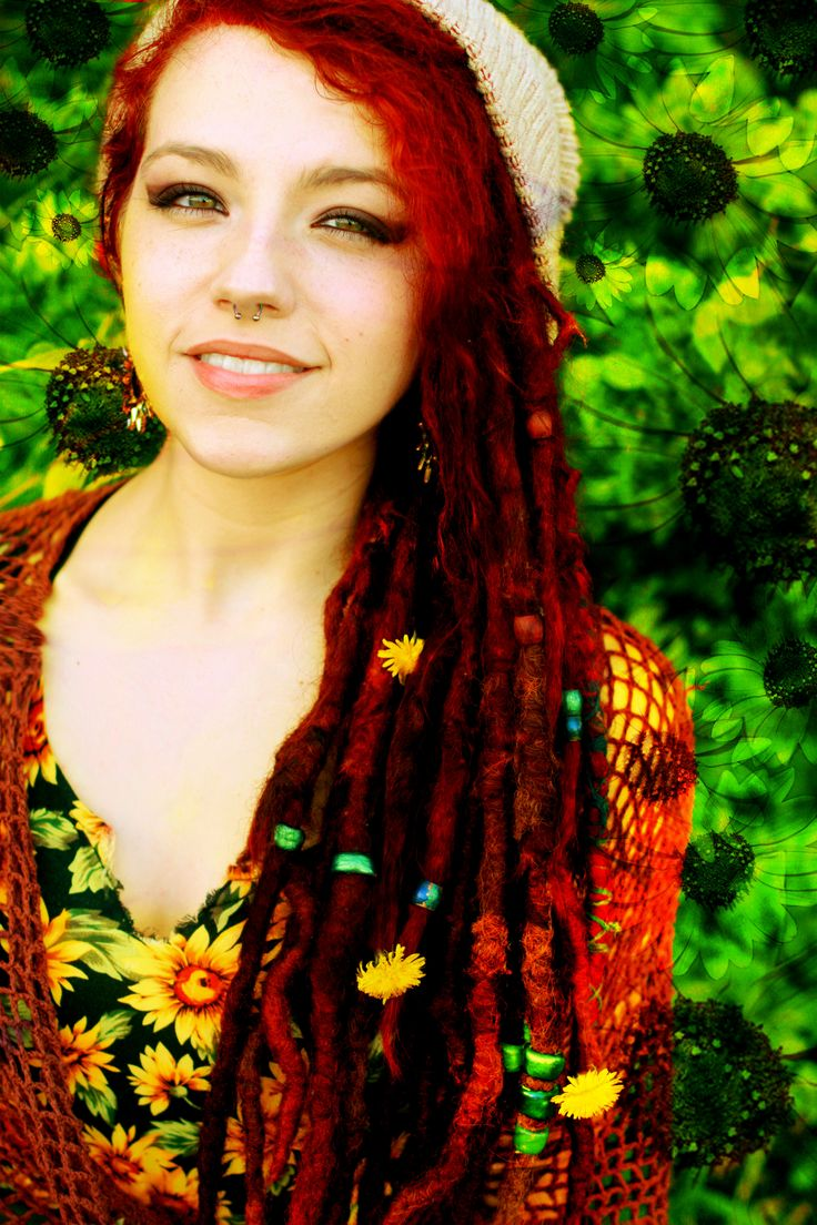 colored dreads - Google Search | Dreadlock Inspiration ...