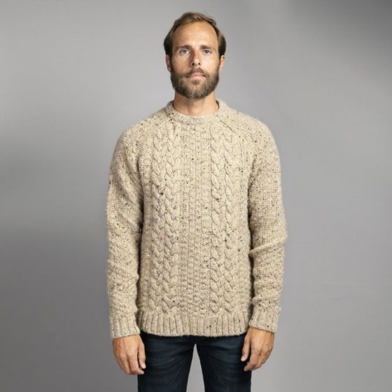 Finisterre Westray Crew Wool Jumper