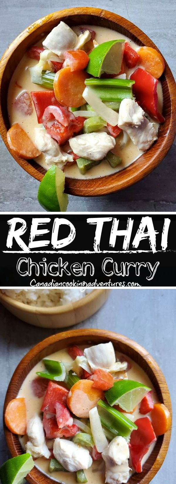 This Red Thai Curry is easy to make and authentic. Yup, you can make this in the comfort of your own home in less than 3…