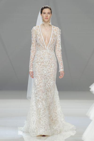 Vestidos de novia manga larga 2017: 60 diseños elegantes y con mucho estilo Image: 35