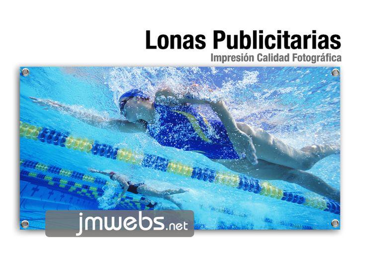 Lonas publicitarias impresas a todo color. Precios en: www.jmwebs.net o Teléfono 935160047