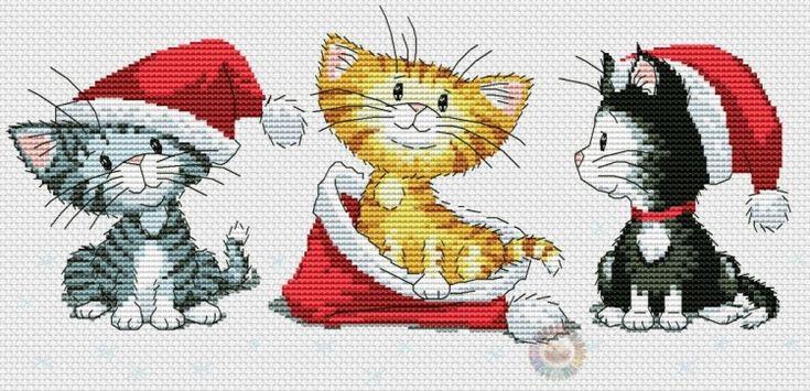 Gallery.ru / Фото #5 - Рождественские котята - Ulka1104