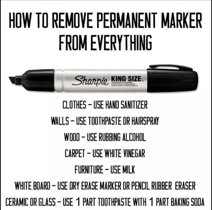 Eliminar marcador permanente