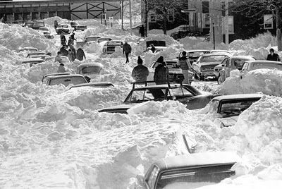 Blizzard of 1978 - Indianapolis, Indiana- I fought to get home from Ball State and then I was snowed in with my FAMILY!