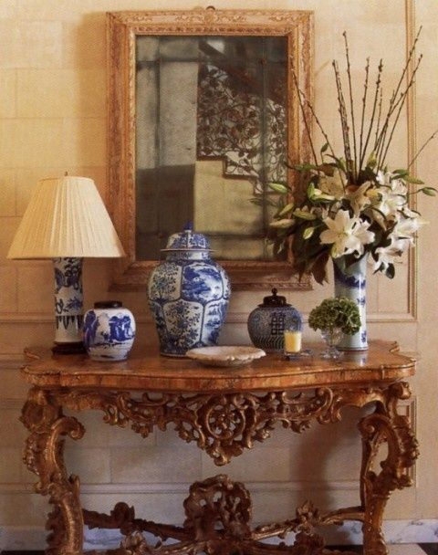Building a blue and white collection.....and a blue and white giveaway! - The Enchanted Home