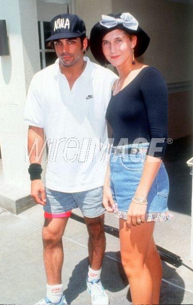 Richard Grieco and Monica Seles...