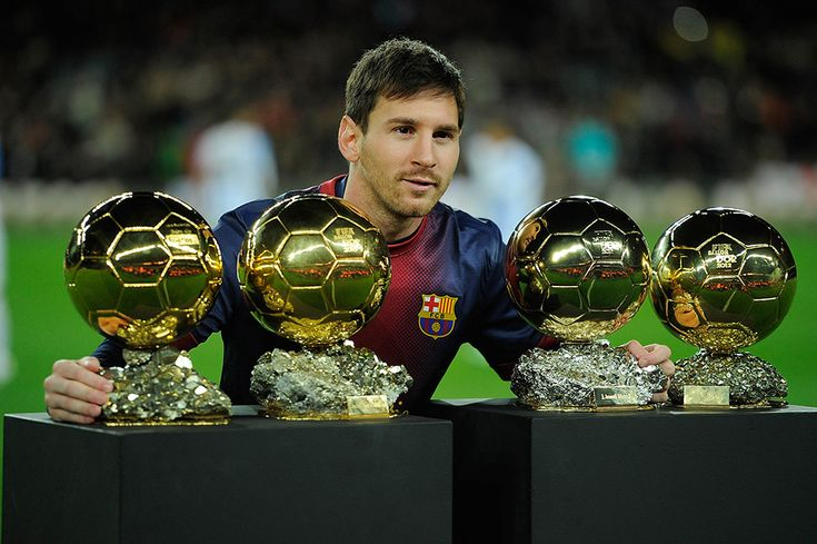 Rekorların sahibi Messi.