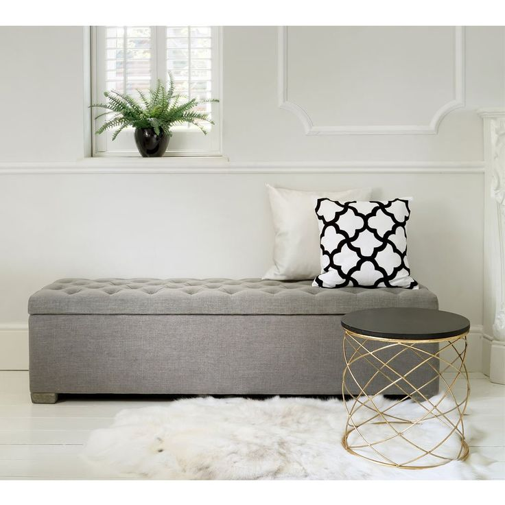 Best 25 bedroom ottoman ideas on pinterest white ottoman ottoman ideas and diy storage pouf Bench in front of bed