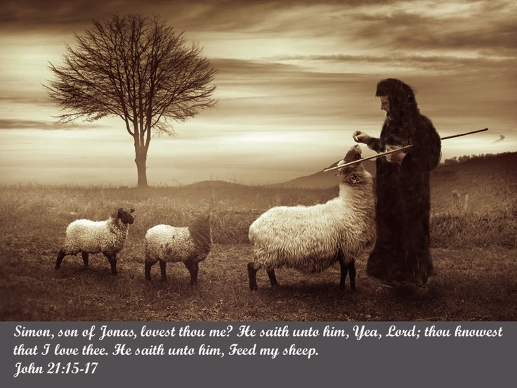 """""""Do you really love me?"""" Jesus said to Peter. """"Then feed"""