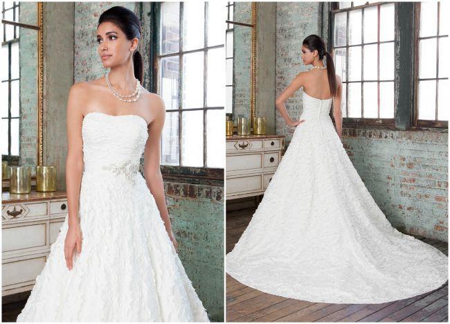Llévate las miradas con la nueva colección de vestidos de novia de Justin Alexander Signature 2016 Image: 4