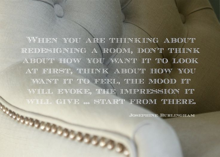 Interior Design Quote Josephine Burlingham