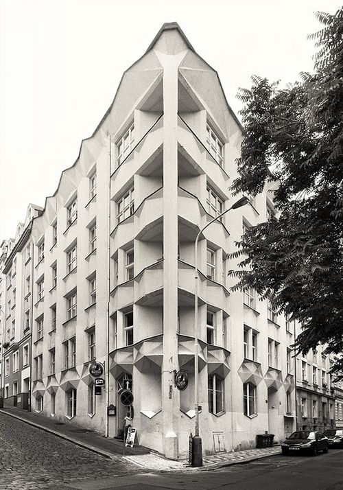 Hodek Apartments, Prague | Josef Chochol