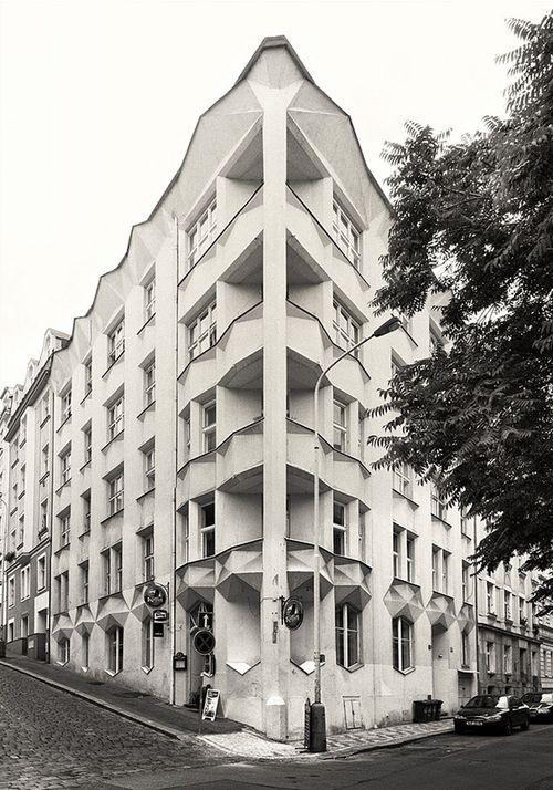 """Josef Chochol - Apartmenthaus """"Hodek"""", Prag  1914"""