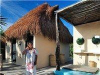 Glamp Cottages in Mexico   Tulum beachfront cottages   Beach Cabanas Tulum