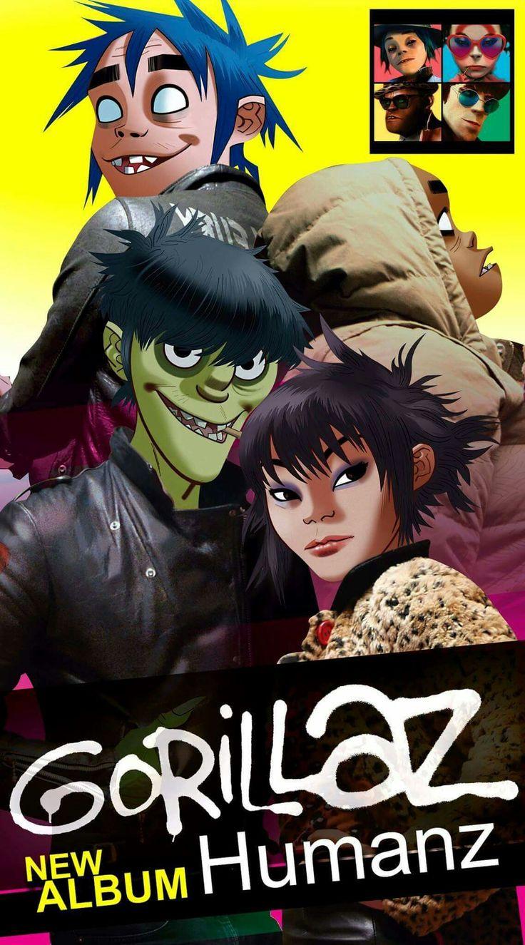Gorillaz new album Humanz.