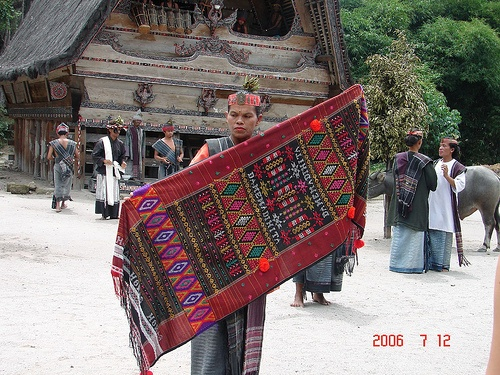 Ulos - Sumatera textile