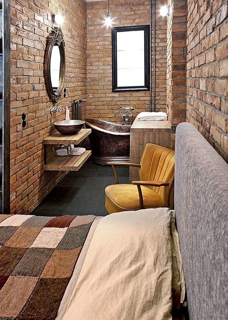 Loft style apartment.  #homestate #realestate #loft #apartment #design #interior #homeestate #nieruchomości #premium #warsaw