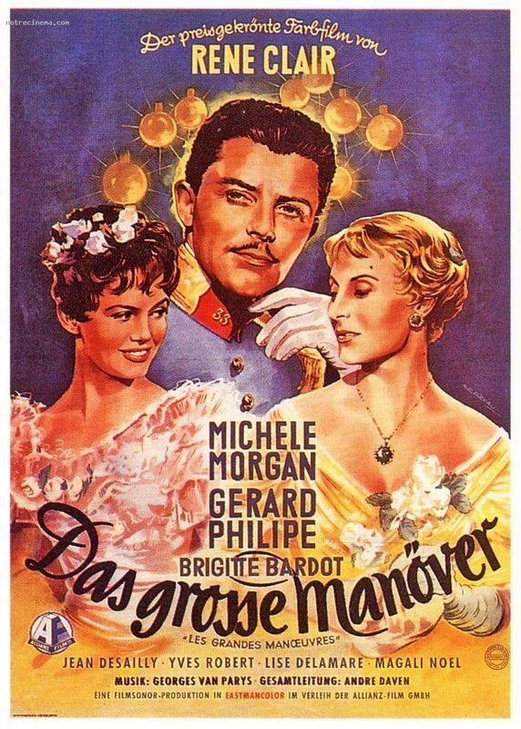 film 1955 - Les grandes manoeuvres - brigitte bardot