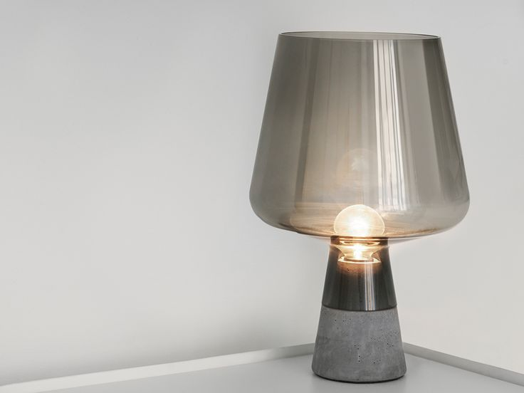 Iittala Leimu Table Lamp Grey