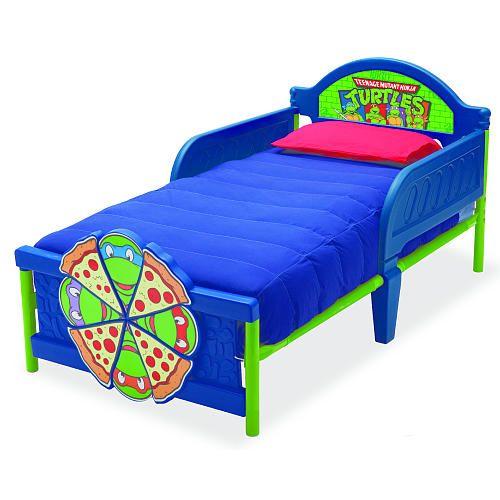 Nickelodeon Teenage Mutant Ninja Turtles 3d Toddler Bed