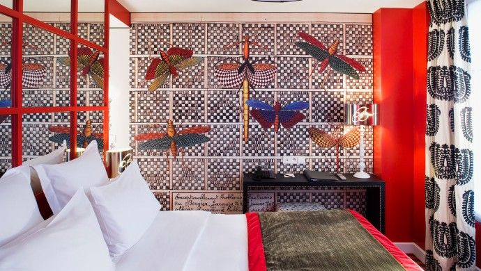 Hotel le Bellechasse: Guestrooms at the Hotel le Bellechasse are each uniquely designed by Christian Lacroix.
