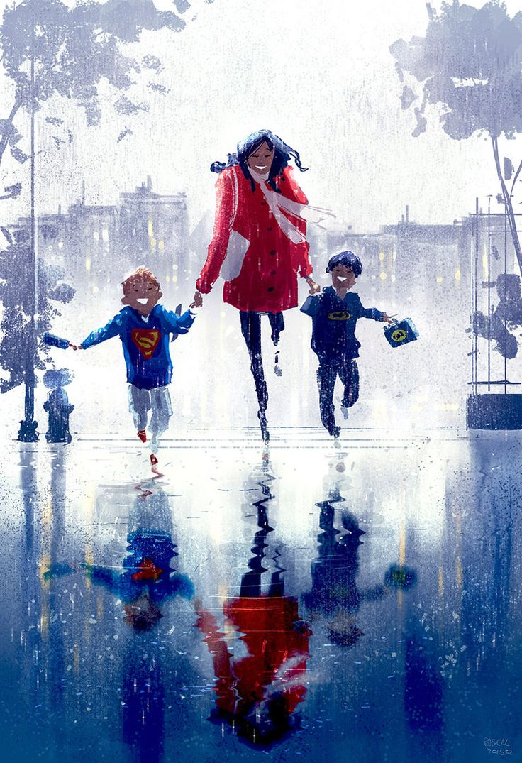 ⌨WET, WET, WET, WET by Pascal Campion⌨ #pascalcampion #paintings #artwork