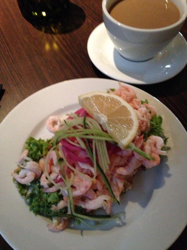 Clarion Post Hotel Gothenburg räksmörgås