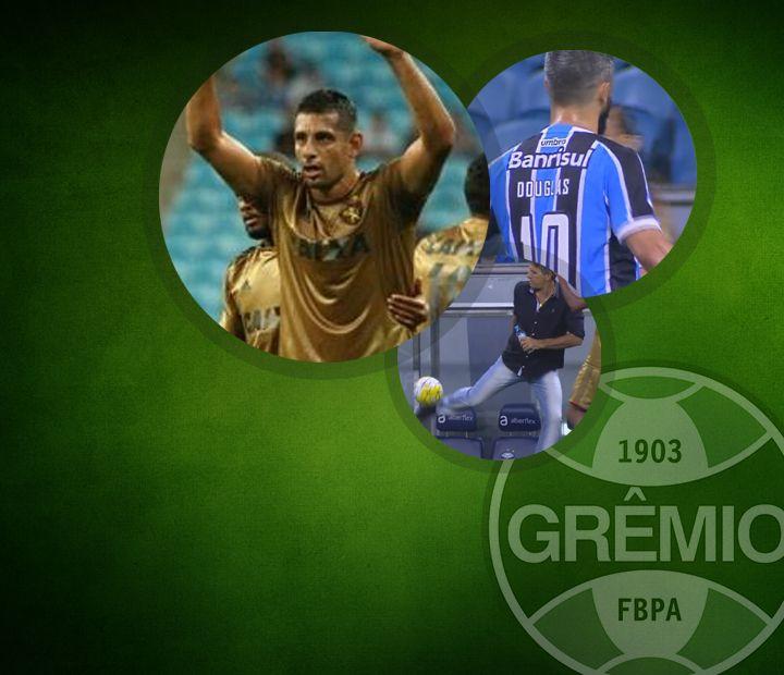 """Grêmio sucumbe à """"lei do ex"""", torcida aplaude e Renato mostra talento; veja  #globoesporte"""