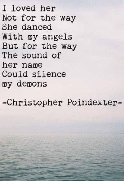 Loving + poetic