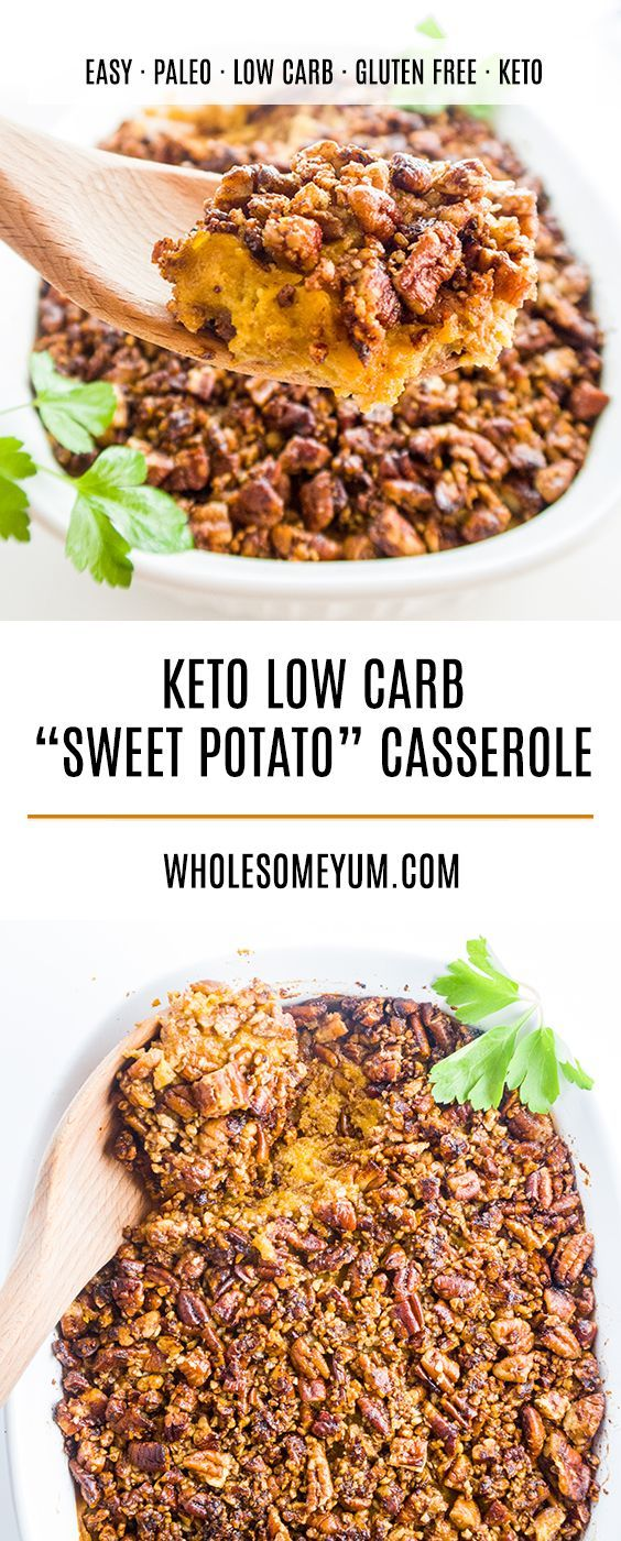 Pecan Roasted Better Than Sweet Potato Casserole Low Carb Paleo