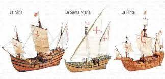 Resultado de imagen de los barcos de cristobal colon