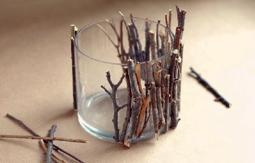 fall crafts...will have to try this, but with Cinnamon Sticks:) I like the cinnamon stick idea... also wonder what jars I can use as an reuse/upcycle.
