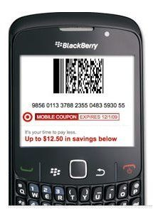 Target: New MobileCoupons - get them here-