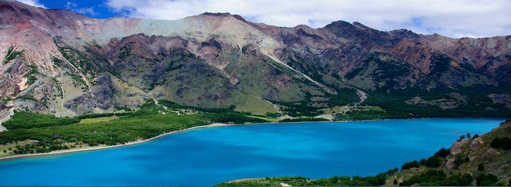 Lago Jeinimeni en La Región de Aysén en Chile